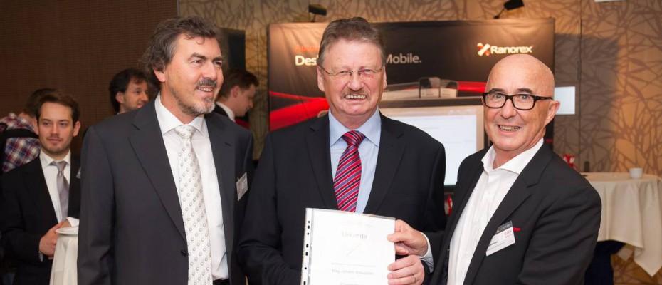 STEV Ehrenmitgliedschaft für Mag. Johann Kreuzeder